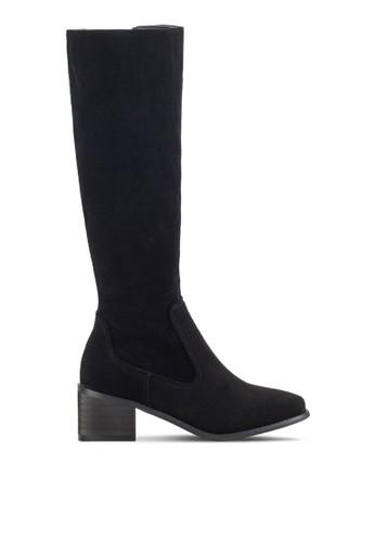 及膝高筒靴zalora 心得, 女鞋, 鞋
