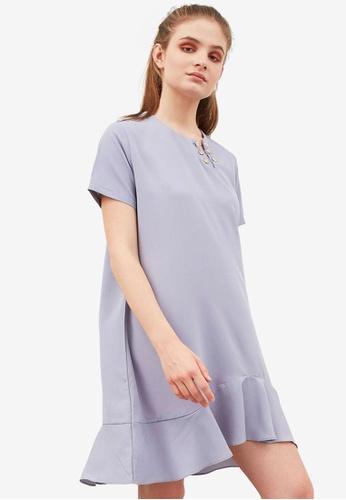 Berrybenka grey Gretna Dress 03F56AABD81F3DGS_1