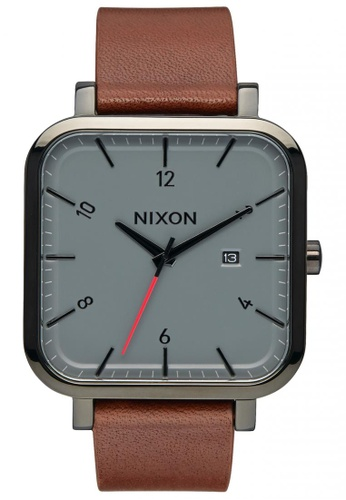 Nixon black and grey Nixon - Ragnar - Black/Charcoal NI855AC95SWMSG_1