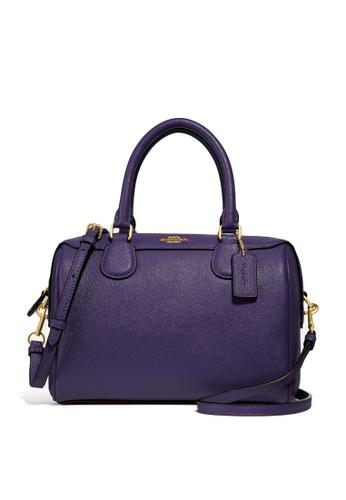 Coach purple Mini Bennett Satchel Bag (cv) 025E4AC27E761EGS_1