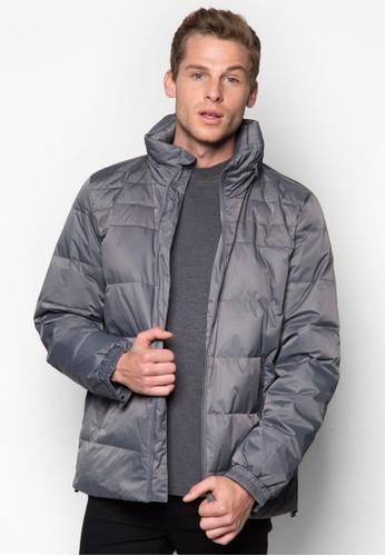 拉鍊esprit分店高領羽絨外套, 服飾, 冬裝外套