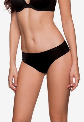 DORINA black Michelle Hipster String Panties DO523US0RQ37MY_1