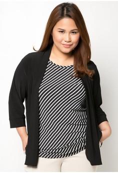 Long Sleeved Plus Size Cardigan