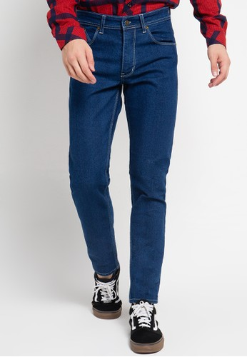 Tolliver blue Slim Fit Jeans TO631AA0UPEIID_1