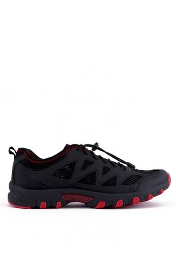 World Balance black Aqua Trail Ladies Outdoor Shoes 4E052SHBC84680GS_1