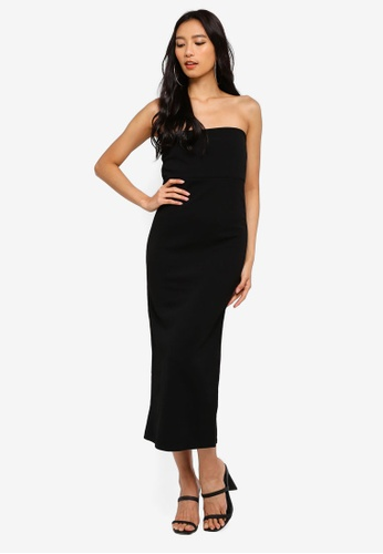 Shop MISSGUIDED Bandeau Midaxi Dress Online on ZALORA Philippines c04ee349e