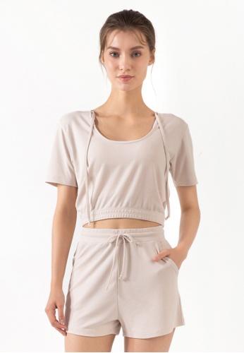 HAPPY FRIDAYS Women's Yoga Short Sleeve Tees DSG70 4EBA5AA06EA798GS_1