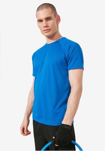 Trendyol blue Slim Fit Active Tee F1F41AAD95404AGS_1