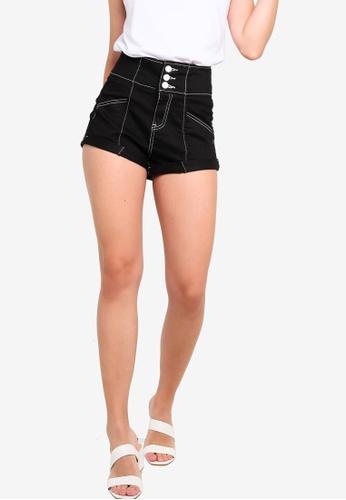 high waisted denim shorts online
