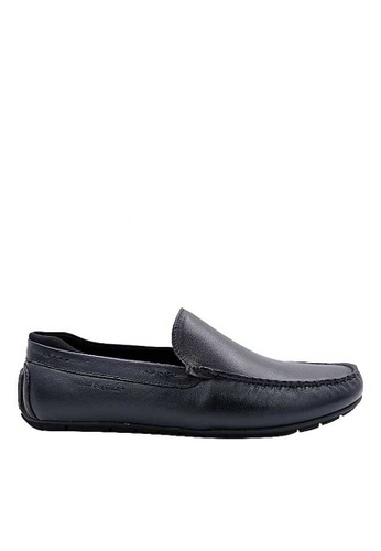 Hush Puppies navy Hush Puppies Mcbee Slip on In Navy 3A2D4SH64CAF82GS_1