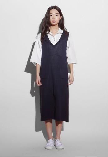 3:33 邊飾直筒式洋裝、 服飾、 洋裝Among3:33邊飾直筒式洋裝最新折價