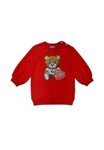 MOSCHINO BABY KID TEEN red MOSCHINO BABY GIRLS DRESS 3A100KA6235B19GS_1