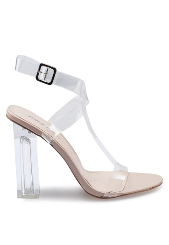 561f32a8685 Alia Strappy Perspex High Heels