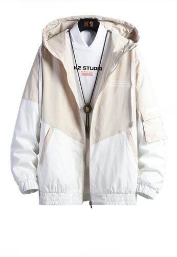 Twenty Eight Shoes beige VANSA  Fashion Hooded Coat VCM-C001 6D996AAA48075BGS_1