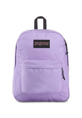 Jansport Black Label Superbreak Backpack Purple Dawn - 25L