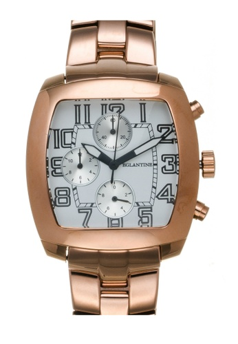 EGLANTINE gold EGLANTINE® Navigo Pink Gold Plated Steel Chrono Quartz Watch on Pink Gold Plated Bracelet 09B19AC3A647E2GS_1