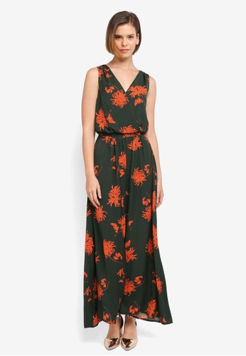 ZALORA multi Floral Maxi Dress 5ABA3AA25787A7GS_1
