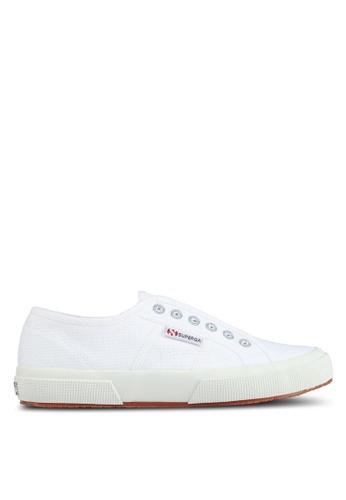Superga white Cotu Slip Ons 870A3SHE996D29GS_1