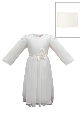 ESTRELLA beige Muslim Dress Anak ESM 81 6/12 7626EKACF7140DGS_1