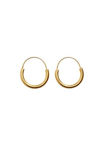 Mango gold Mini Hoop Earrings 94CCEACDAEAD97GS_1