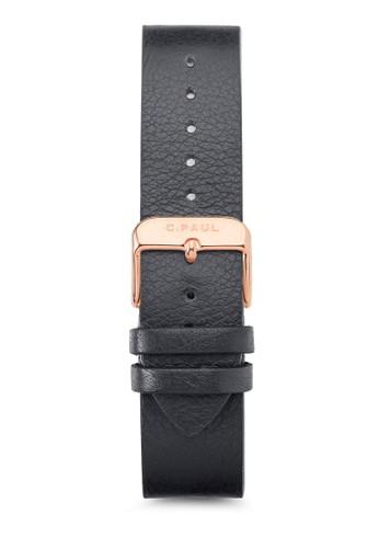 43mm 皮革錶esprit台北門市帶, 錶類, 皮革錶帶