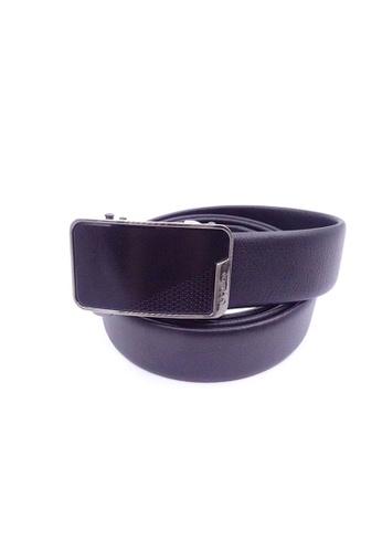 Goldlion black Goldlion Men Auto-Lock Buckle Belt - Black B7AD6AC21FC543GS_1