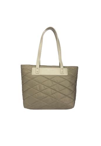 Pierre Cardin brown Pierre Cardin Premium Medium Tote Bag 5B0FBAC783CC0FGS_1