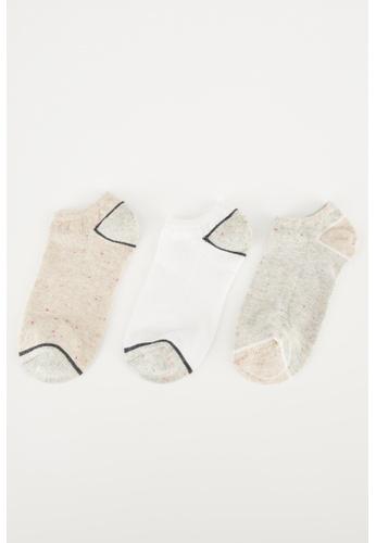 DeFacto multi 3-pack Low Cut socks AB8A0AA7E18A74GS_1
