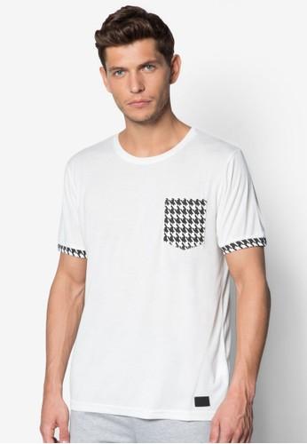 千鳥格口袋圓領Tesprit 評價EE, 服飾, T恤
