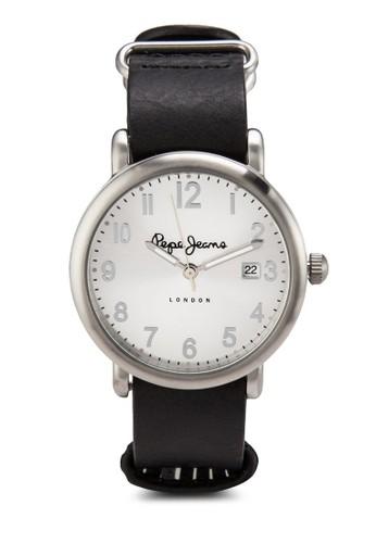 R23511055esprit門市06 Charlie 皮革女性圓錶, 錶類, 飾品配件