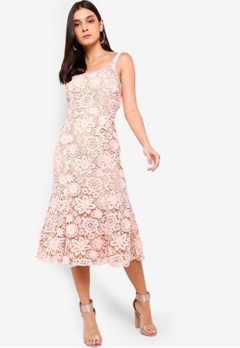 JARLO LONDON pink Daisy Dress 7FD19AA248E096GS_1