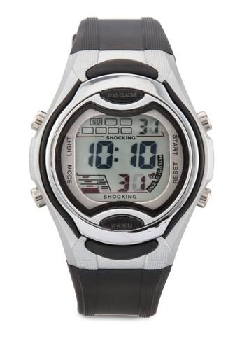 中性糖esprit 尺寸果色電子錶, 錶類, 其它錶帶