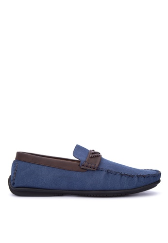 H2Ocean blue Norththrop Loafers & Moccasins 12934SHB5BF312GS_1