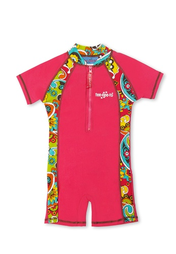 TeePeeTo pink and multi Indian Summer One Piece 1A186KAB6557E3GS_1