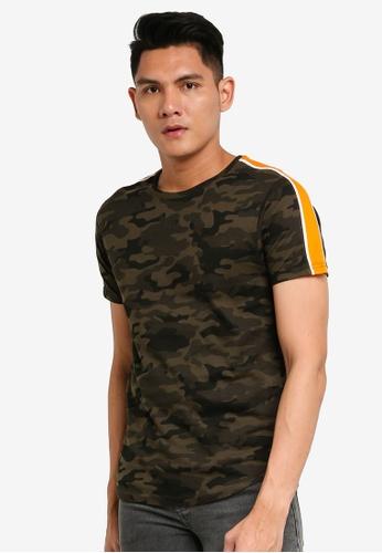 Brave Soul multi Short Sleeve Crew Neck T-Shirt 64821AA8C11A8FGS_1