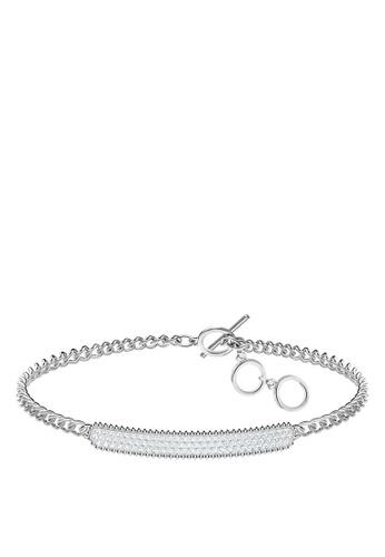 Swarovski silver Locket Bracelet 939E2ACDAD15EAGS_1