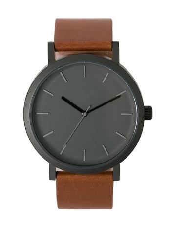 LEUPP black and brown Bowen Watch LE983AC07CIMPH_1