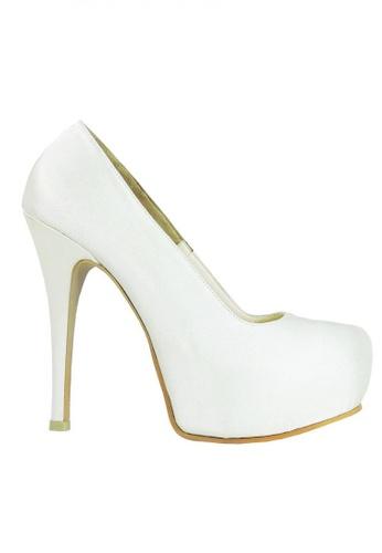 Jacque white White Swan High Heels JA262SH17UDIMY_1