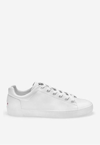 ASH white Nikko - White Strap Sneakers 5CC9DSH2CD1E15GS_1