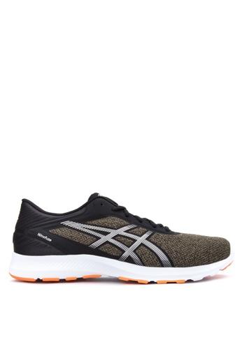 Asics black Nitrofuze Running Shoes AS445SH23VSQPH_1