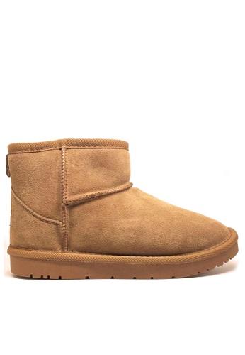 Twenty Eight Shoes 真皮經典短靴雪地靴UUD01 036F8SH104651BGS_1