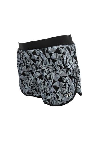 TYR grey TYR Geometric Shorts 8E2DFAA86AE916GS_1