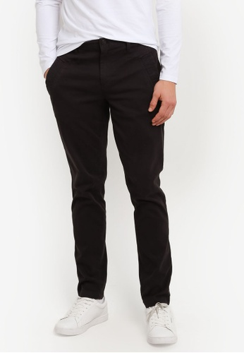 Calvin Klein black Getup Pants - Calvin Klein Jeans CA221AA0S02FMY_1