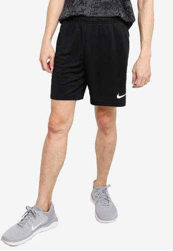 Nike black and grey Men's Mesh Training Shorts 5.0 1601CAAB73B0FFGS_1