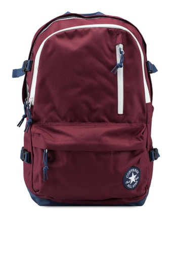 Converse red Converse All Star Straight Edge Backpack 97680AC5867530GS_1