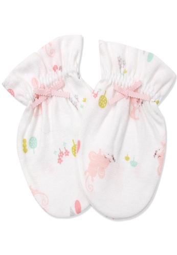 Organic mom pink Organic Cotton Bella Mouse Mitten A42BEKA83F942BGS_1