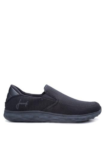 Jump black Hudson Sneakers JU701SH02VNTPH_1