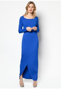 Key Hole Back Maxi Dress