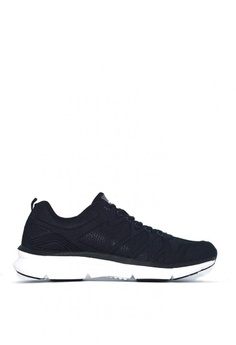 the best attitude f4570 e6f4b ACCEL black and white RN Tristan Running Shoes D6D4FSH93A5D4CGS 1