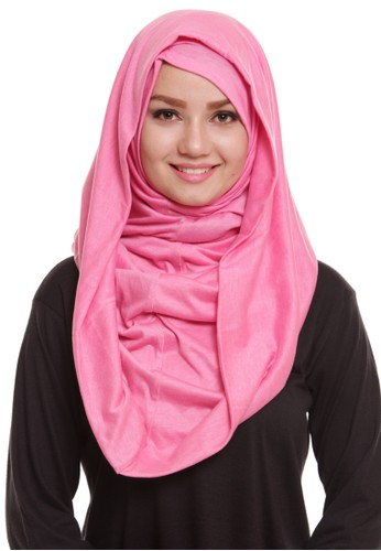 Mybamus Plain Syria Hoodie Baby Pink